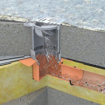 Системы водостока и водоотведения для промышленных зданий